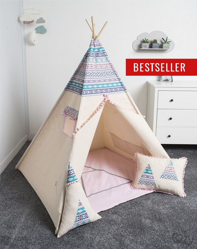 die besten 25 tipi f r kinder ideen auf pinterest teepee kinder kinder tipi und tipi kinderzelt. Black Bedroom Furniture Sets. Home Design Ideas