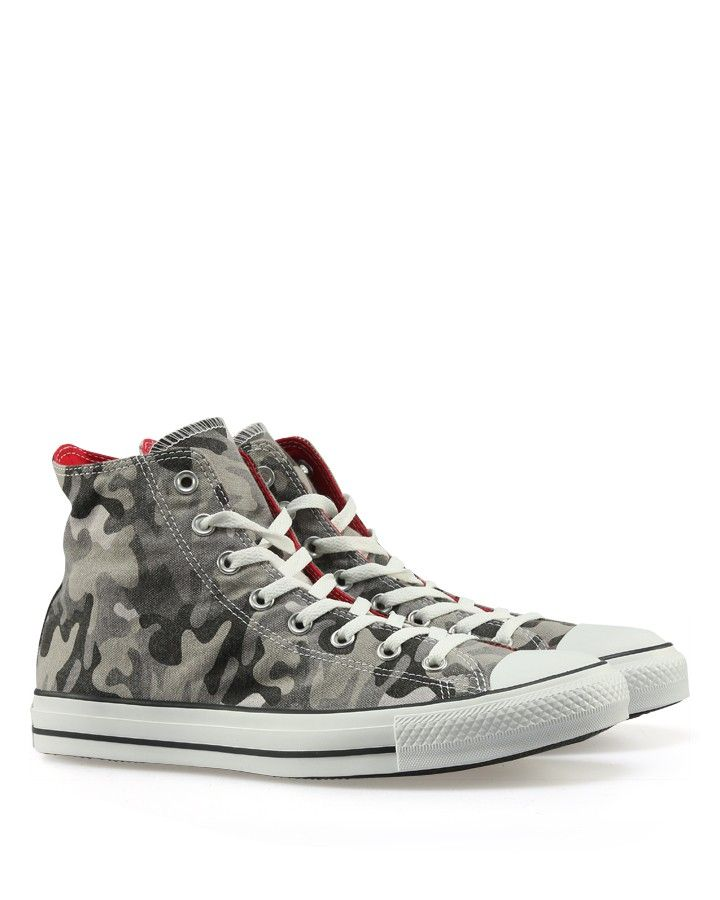 Converse - klassischer Chuck Taylor Camouflage Grau
