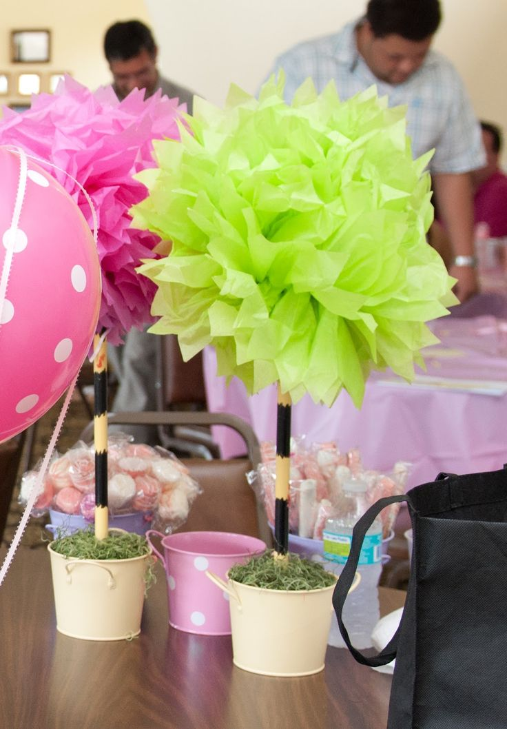 Kristy Lin Photography: Dr. Seuss: Oh, the places you'll go Baby Shower - LOVE these topiaries