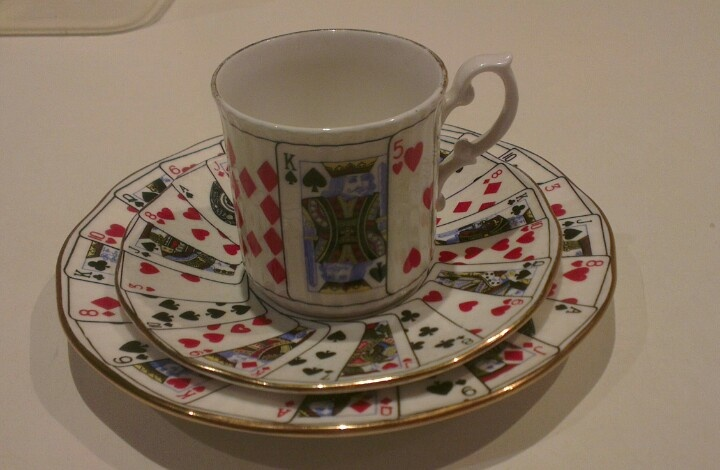 """Elizabethan """"Cut for Coffee"""" Trio."""