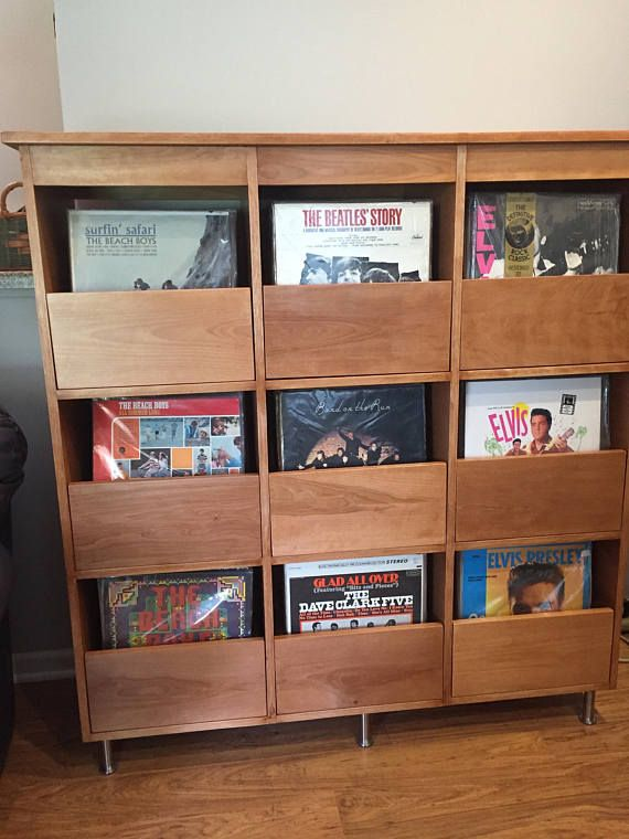 This Is A Detailed Plan For Making My 9 Drawer Record Storage Cabinet Ive Sold Some Of The Unit Record Cabinet Record Storage Cabinet Vinyl Record Storage Diy