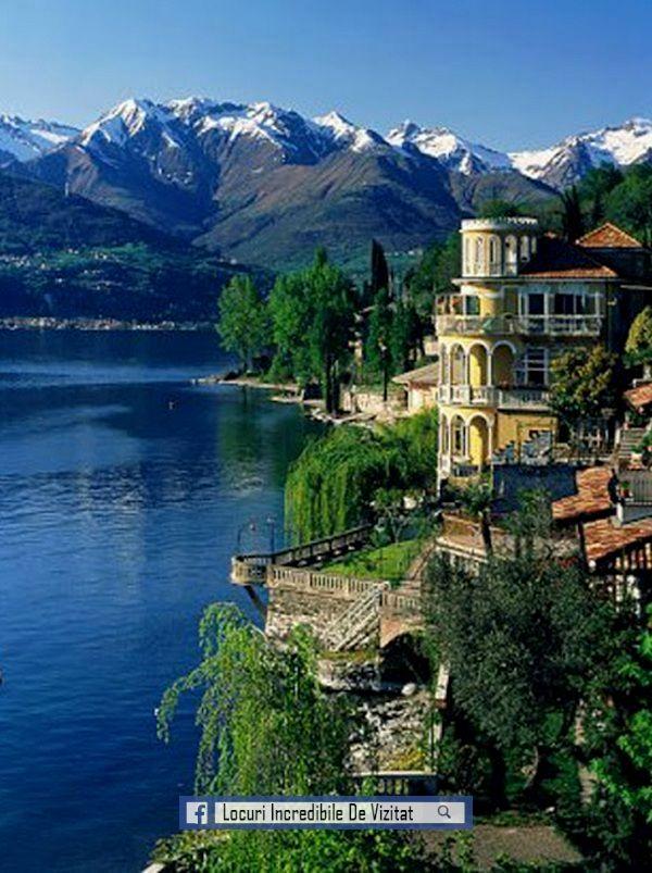 Lacul Como este cel mai popular lac și destinație romantică de top. Este al treilea lac din Italia cel mai mare și un loc unde puteți merge la VIP-urile Italiei. Este înconjurat de vile frumoase și sate de stațiune și este popular pentru excursii cu barca, activități de apă, fotografii.  Like & Share daca va place.