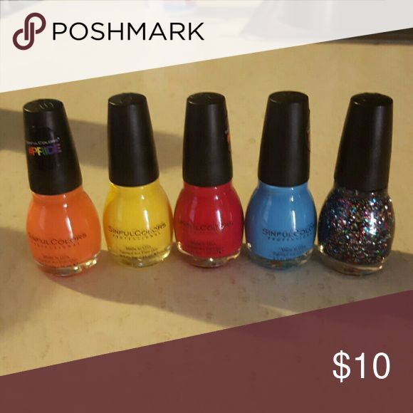 Sinful Nail polish lot. New Lgbt line Sinful Makeup