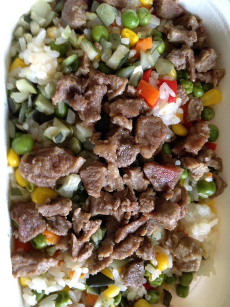mexikói zöldséges rizseshús - Interfood
