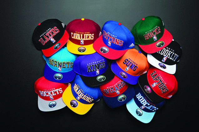 Love Collecting Basketball Caps