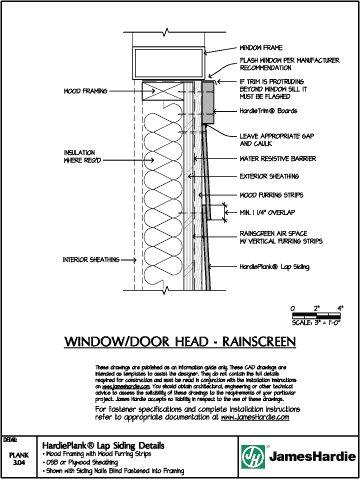 Hardieplank Lap Siding Details Wood Framing With Wood