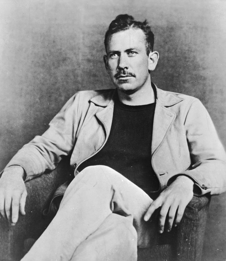 One of my favorite authors, John Steinbeck, who has taught me about the power of forgiveness and redemption.