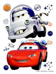 cars in space sticker by fantastick wall art #fantastick #onyourwall #wallart #sticker #home #deco #disney