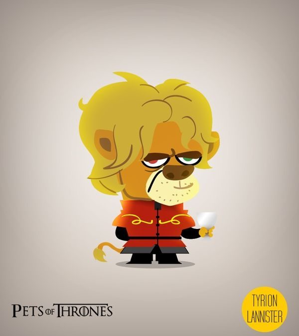 Tyrion Lannister- Pets of Thrones