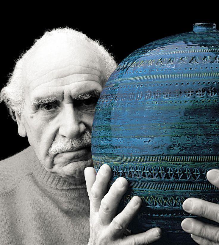 Aldo Londi with his creation Rimini Blu.