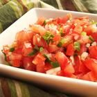 Pico De Gallo - An authentic Mexican salsa made with tomatoes, onions, and jalapenos. Serve with tacos, nachos, black beans, refried beans, or your favorite Mexican dish!