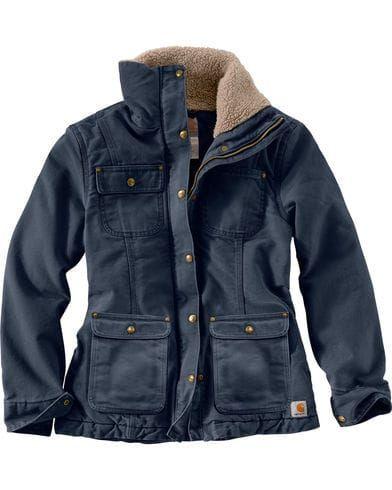 Carhartt Women S Weathered Duck Wesley Coat Boot Barn Clothing