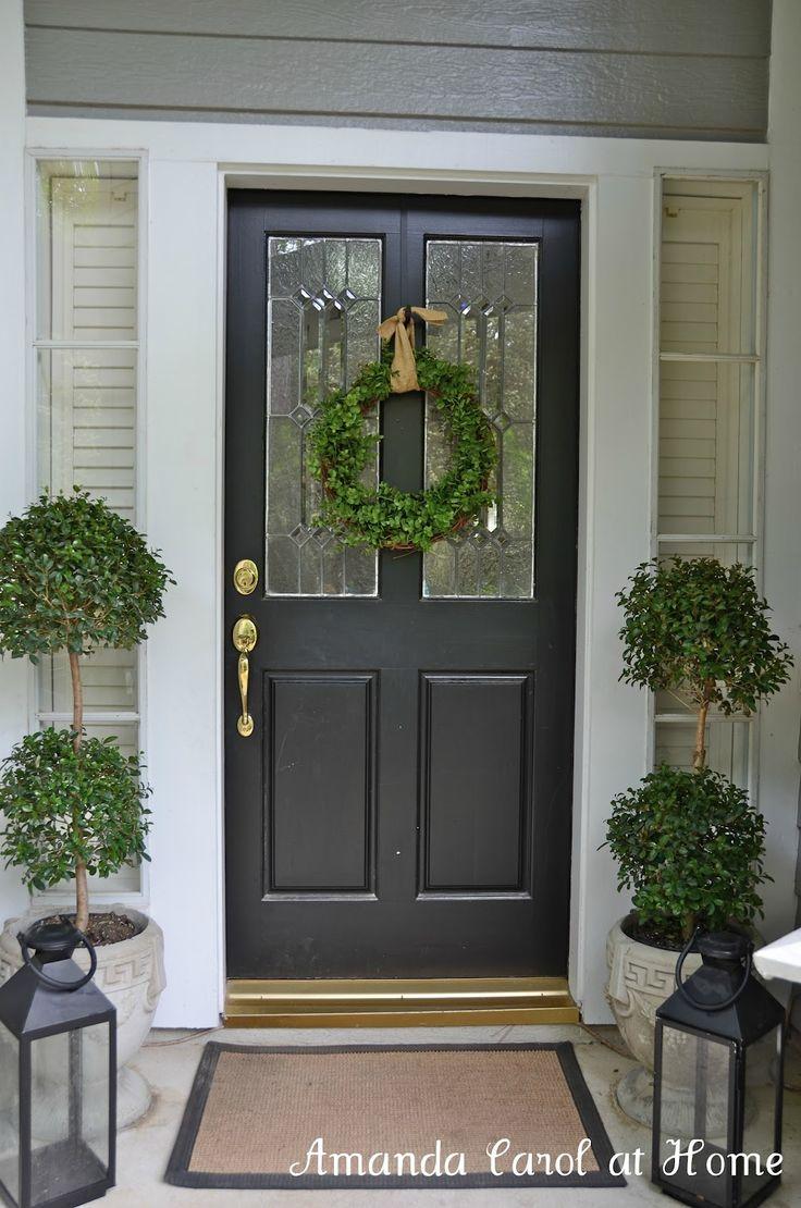 Best 25+ Colonial Front Door Ideas On Pinterest