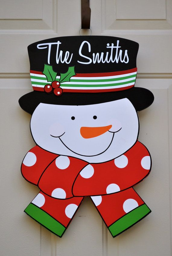 17 best ideas about door hangings on pinterest initial for Wooden christmas cutouts