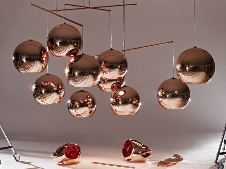 Copper Shade By Tom Dixon Lighting