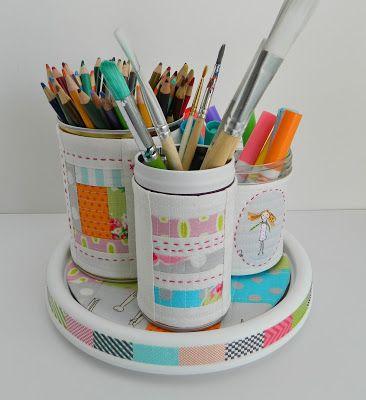 17 best ideas about pen organizer on pinterest ikea - Lazy susan desk organizer ...