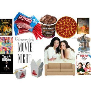 Gilmore Girls Movie Night