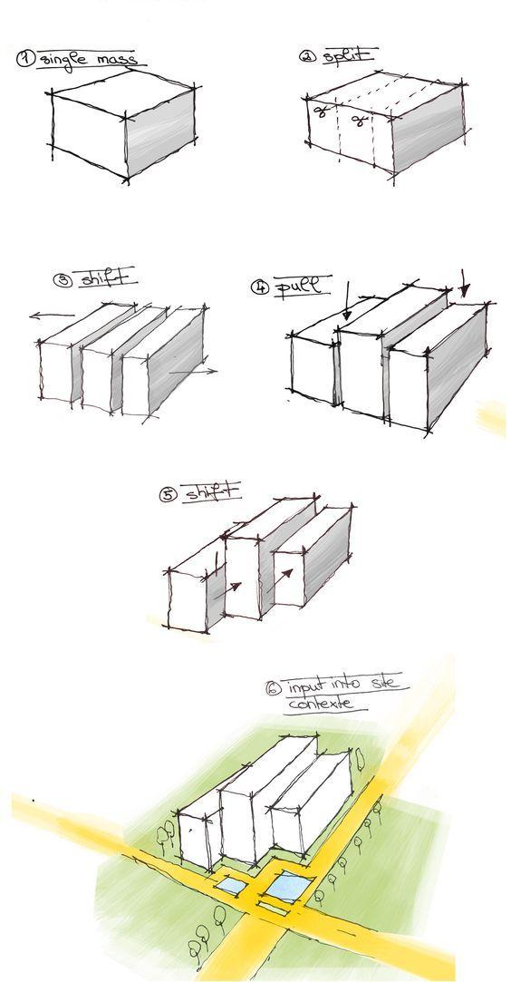 Design process | arch. stud Kamila Sokolowska:
