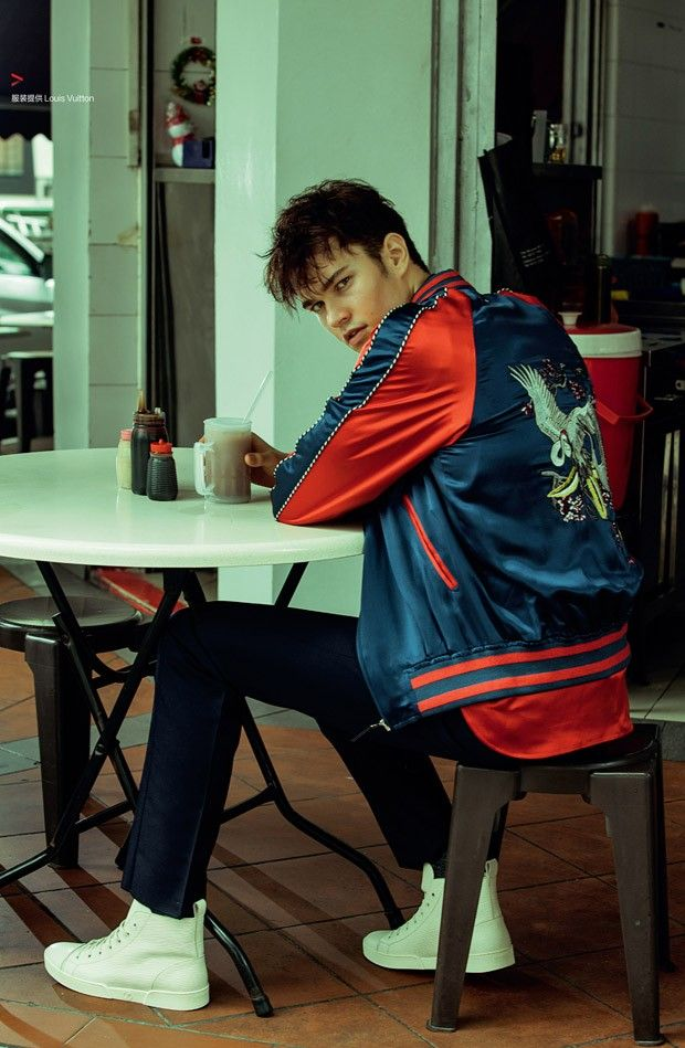 Charles Markham for Harper's Bazaar Men's Style China by Xiao Li