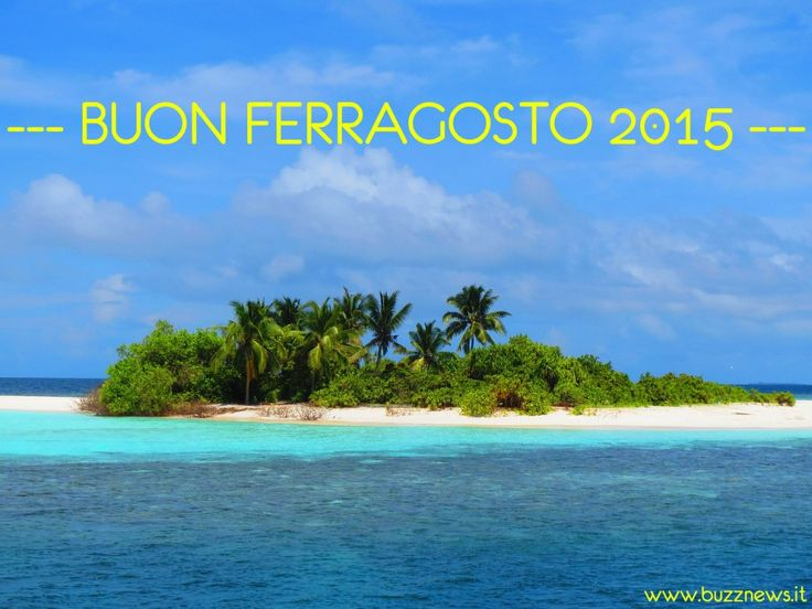 Auguri di Ferragosto isola paradisiaca