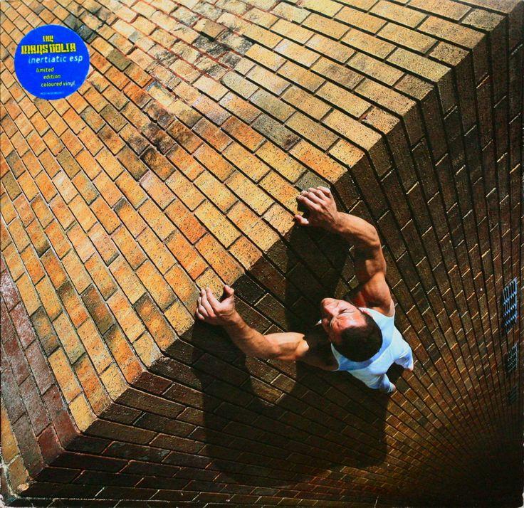The Mars Volta vinyl single cover by Storm Thorgerson (Inertiatic ESP, 2003).