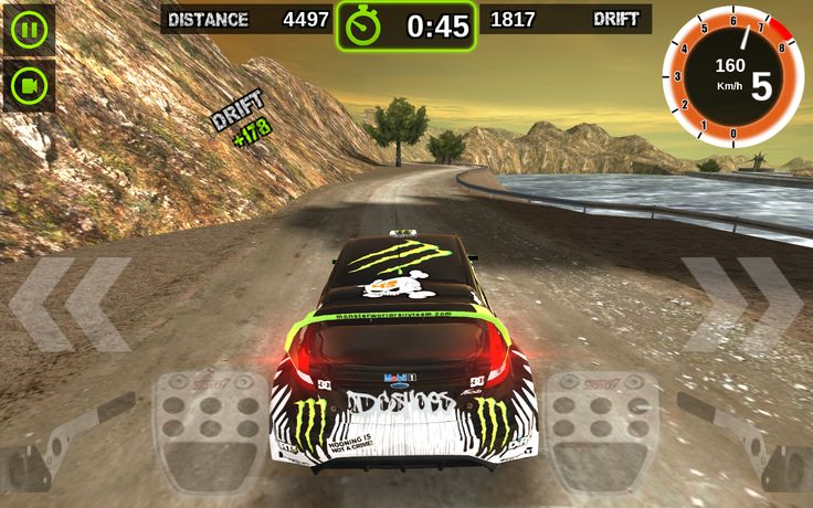 Rally Racer Dirt: captura de tela