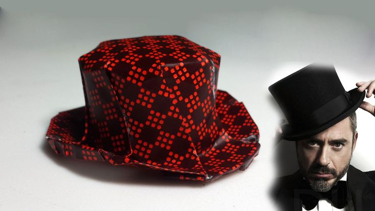 How to make an origami Top Hat (Henry Phạm)