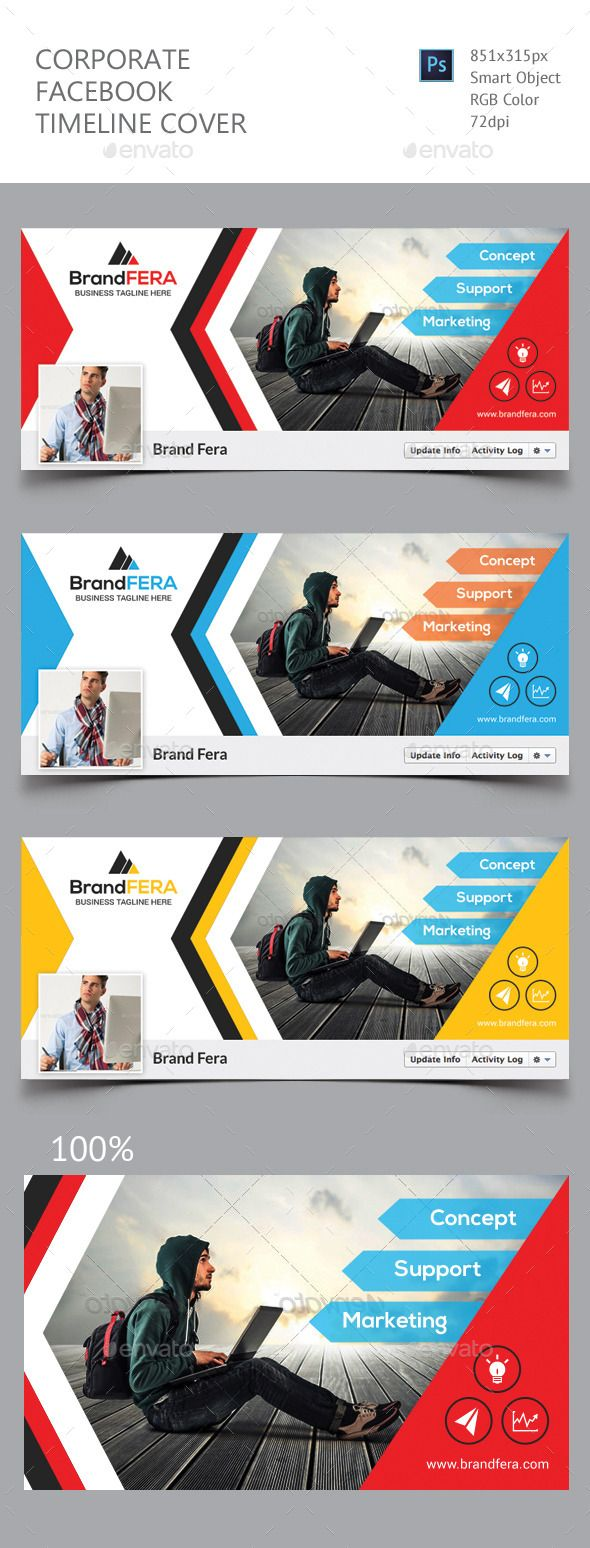 Corporate Facebook Timeline Cover Template #design #psd Download: http://graphicriver.net/item/corporate-facebook-timeline-cover/12649198?ref=ksioks