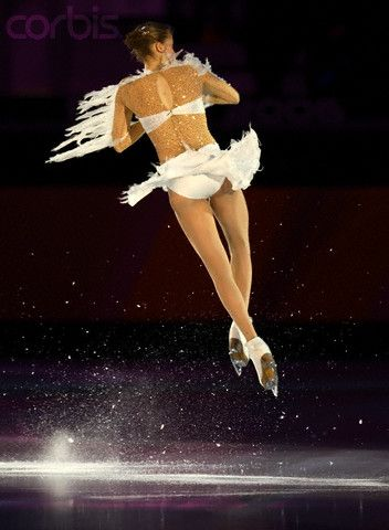 Carolina Kostner.I love watching ice skating. Please check out my website Thanks.  www.photopix.co.nz