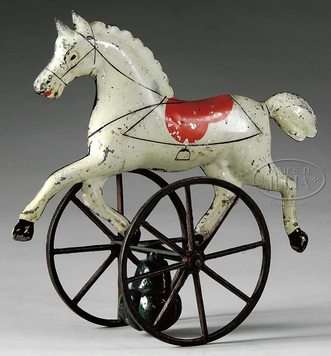 GEORGE BROWN HORSE BALANCE TOY.