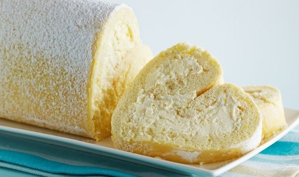 Tart Lemon Roulade : Bake with Anna Olson : The Home Channel