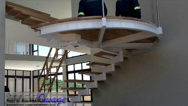 What a beautiful designed staircase this is. Even if we have to say so ourselves :)  #steelimage #custom #designed #staircase