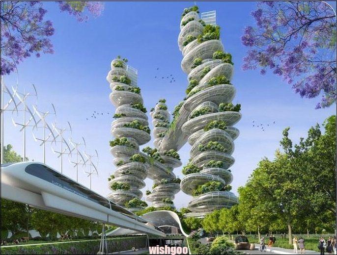 "Gallery of Vincent Callebauts 2050 Vision of Paris as ""Smart City"" – 14 – – #technolog … – #als #callebauts #Cityquot #galeri"