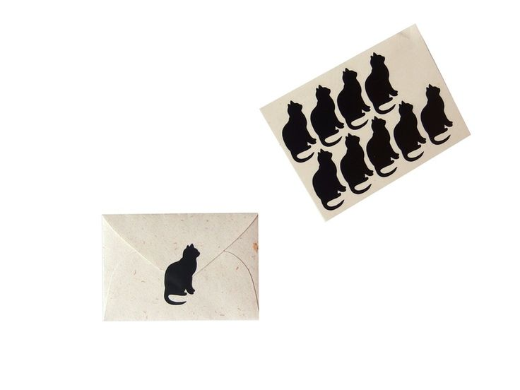 Cat Stickers, Cat seals, Cat decals from MiniShopLV by DaWanda.com
