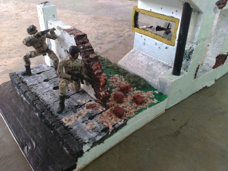 1:18 scale diorama