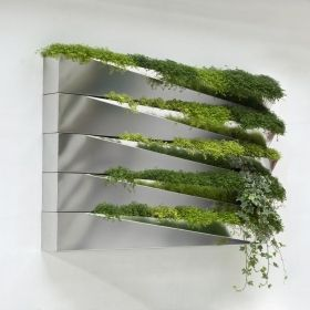 Living wall herb planters
