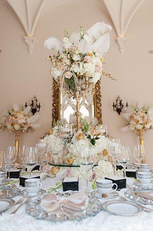 Вдохновение: свадьба в стиле Великого Гэтсби