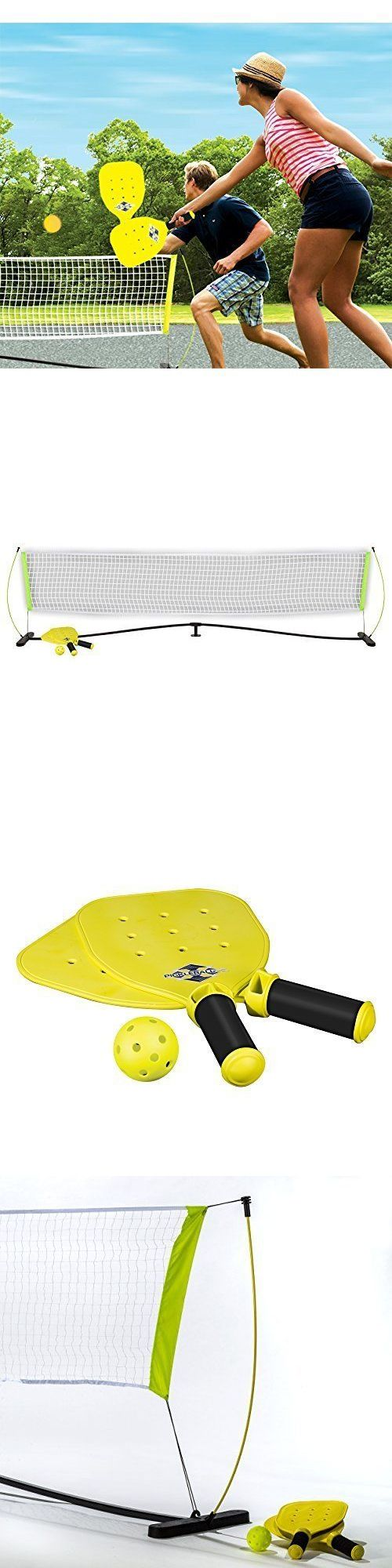 Other Tennis and Racquet Sports 159135: Pickleball Starter Set Net 2 Paddles 2 Balls Outdoor Game Official Set Us Open -> BUY IT NOW ONLY: $67.9 on eBay!