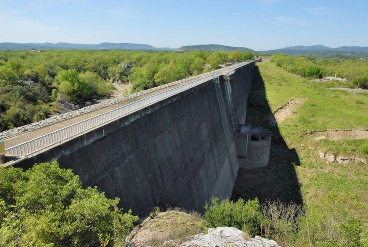 Barrages écrêteurs de crues dans le Gard Conqueyrac