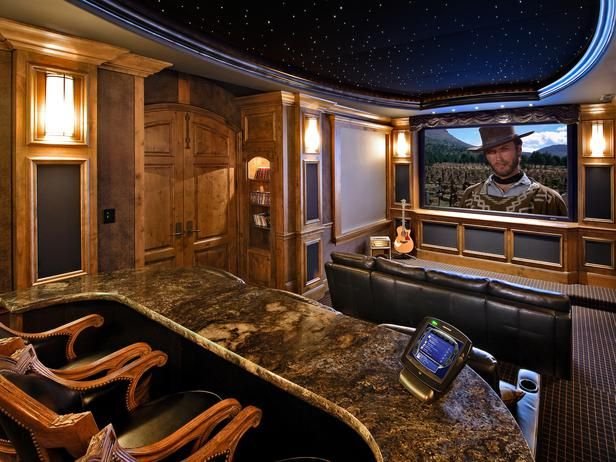 44 best High End Home Theater Interiors images on Pinterest | Home ...