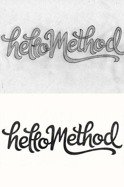 lettering logos - Hand Lettering