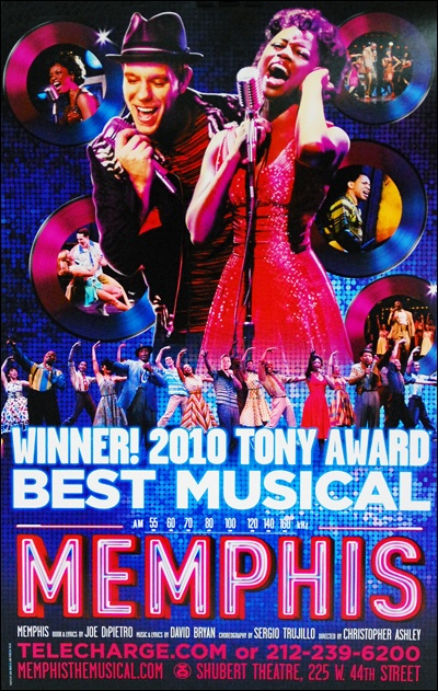 Buy the Memphis the Musical Broadway Window Card Poster at PlaybillStore.com