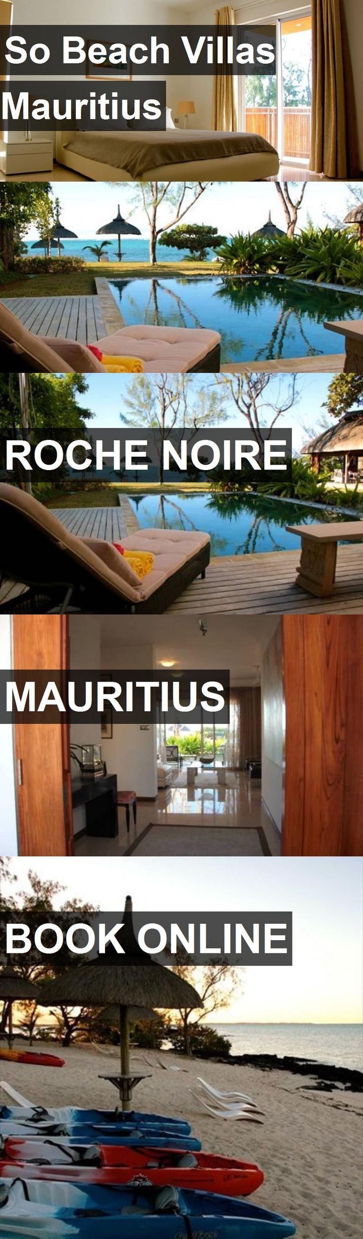 Hotel So Beach Villas Mauritius in Roche Noire, Mauritius. For more information, photos, reviews and best prices please follow the link. #Mauritius #RocheNoire #travel #vacation #hotel