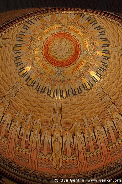 Dome of The Hall of Memory, The Australian War Memorial, Canberra, ACT, Australia