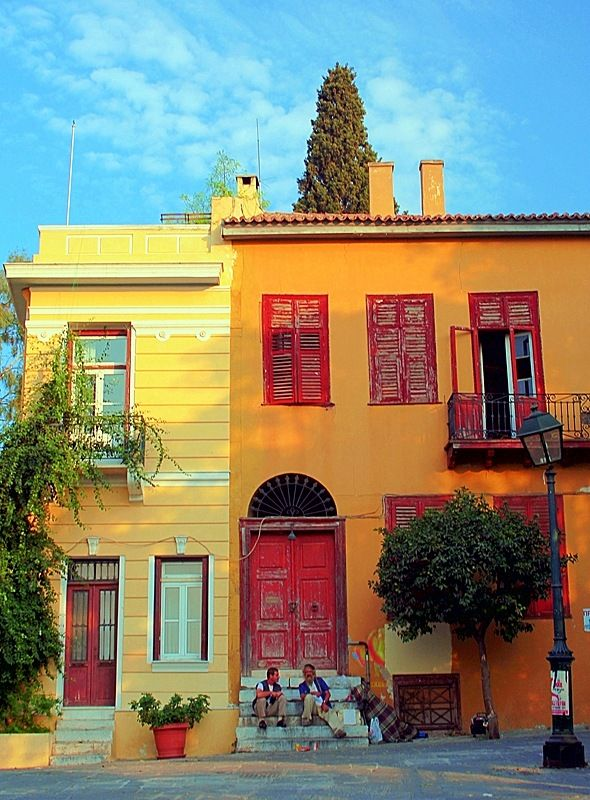 The Plaka Neighborhood - Athens, Greece  #Athens #Greece #solebike #e-bike #sightseeing #Plaka