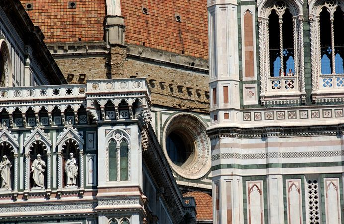 #Firenze: dettaglio del #Duomo - #Florence: detail of the #Chatedral.