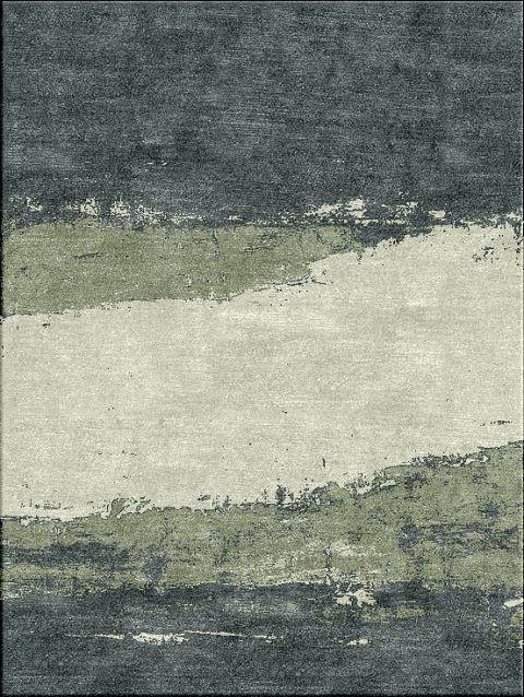 新中式简约水墨客厅地毯贴图