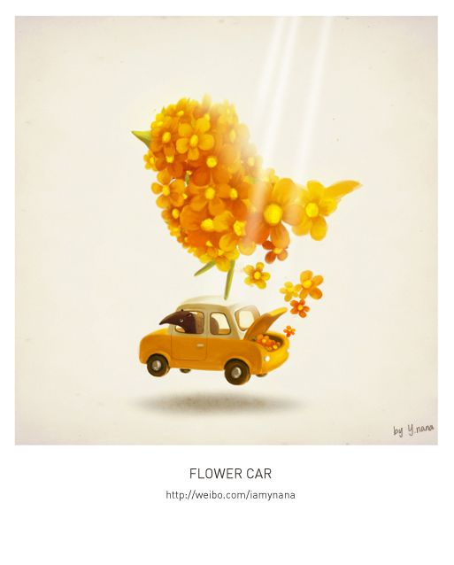 spring by Yao Xiong, via Behance