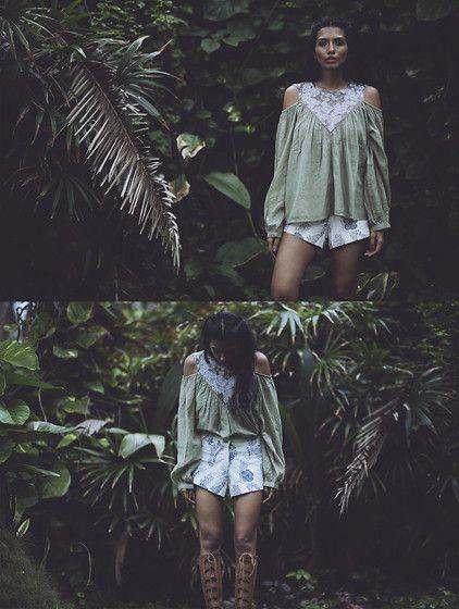 More looks by Rhea Gupte: http://lb.nu/thegirlfromfuss  #bohemian #casual #romantic #gypsy #fuss