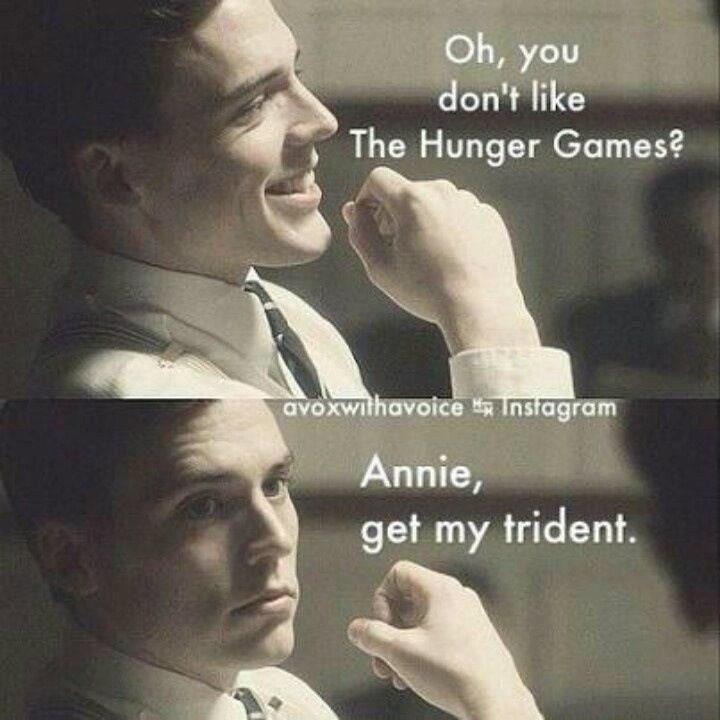 haha finnick.......get my trident